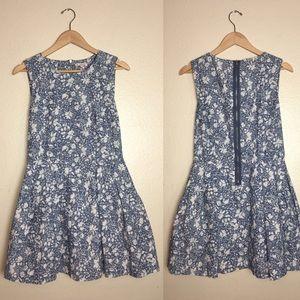 Gap Floral Print Mini Dress